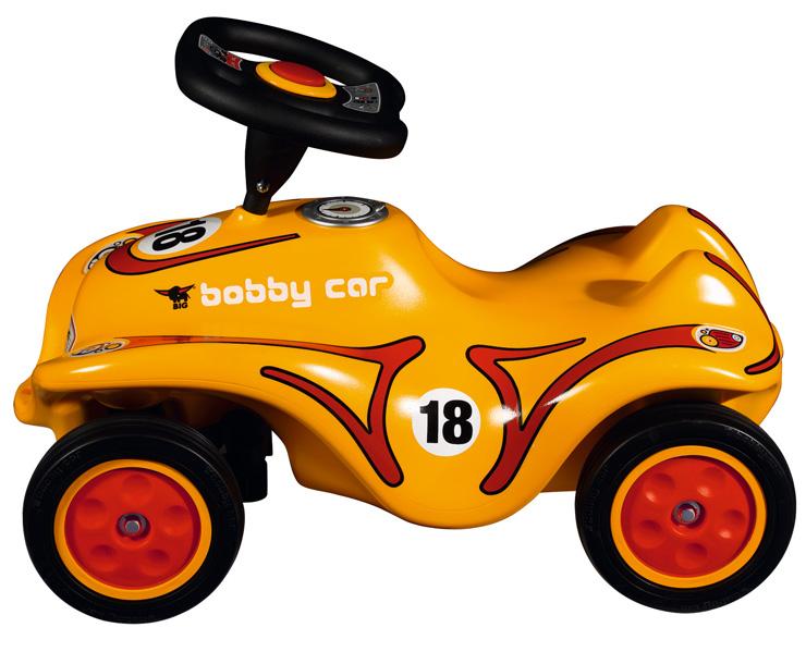 新款橙色炫酷波比车